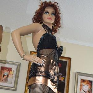 Dresses & Skirts - Gold Mini skirt